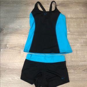 Nike Women's Tankini 2 piece Swimsuit